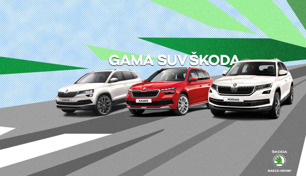 Descubre la gama SUV de Skoda