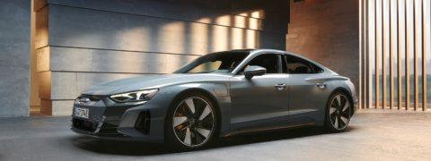 Nuevo Audi e-tron GT más potente y más sostenible